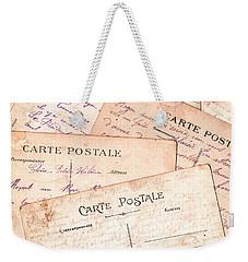 Cartes Postales Weekender Tote Bag