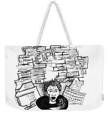 Cartoon Inbox Weekender Tote Bag