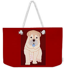 Cartoon Shar Pei Weekender Tote Bag