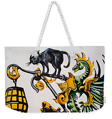 Caru Cu Bere - Antique Shop Sign Weekender Tote Bag