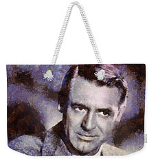 Cary Grant Hollywood Actor Weekender Tote Bag by Esoterica Art Agency