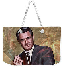 Cary Grant - Square Version Weekender Tote Bag