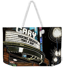 Cary Theater Weekender Tote Bag