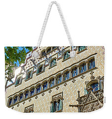 Weekender Tote Bag featuring the photograph Casa Amatller In Barcelona by Eduardo Jose Accorinti