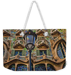 Casa Batllo Gaudi Weekender Tote Bag by Henry Kowalski