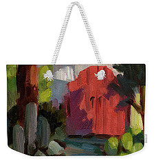 Casa Tecate Gate Weekender Tote Bag by Diane McClary