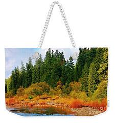 Cascade Autumn Weekender Tote Bag