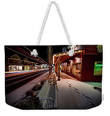 Weekender Tote Bag featuring the photograph Cascade Avenue by Cat Connor