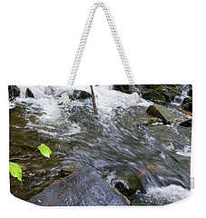 Cascade Falls Stream, Farmington, Maine  -30329 Weekender Tote Bag
