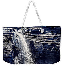 Weekender Tote Bag featuring the photograph Cascade by Kendall McKernon
