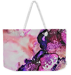 Weekender Tote Bag featuring the painting Cascade by Michele Myers