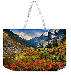 Cascade Pass Fall Weekender Tote Bag