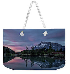 Cascade Ponds Sunrise Weekender Tote Bag