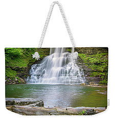 Cascades Falls Giles County Weekender Tote Bag