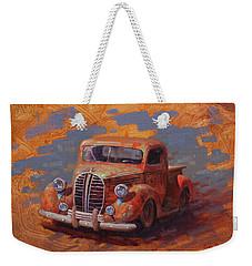 Cascading Color Weekender Tote Bag