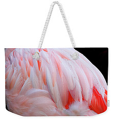 Cascading Feathers Weekender Tote Bag