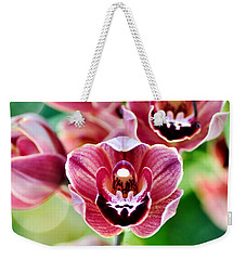 Cascading Miniature Orchids Weekender Tote Bag