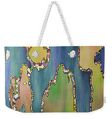 Cascading Realms Weekender Tote Bag