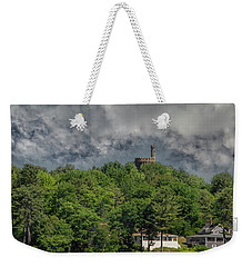 Weekender Tote Bag featuring the photograph Casco Castle 5733 by Guy Whiteley