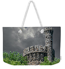 Weekender Tote Bag featuring the photograph Casco Castle by Guy Whiteley