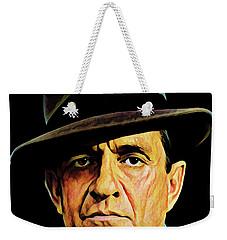 Cash With Hat Weekender Tote Bag