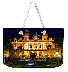 Casino Monte Carlo Weekender Tote Bag by Jeff Kolker