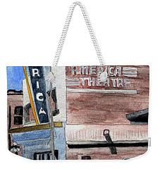 Casper Wyoming Movie Theater Weekender Tote Bag by R Kyllo