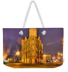Cass Castle Detroit Mi Weekender Tote Bag by Nicholas  Grunas