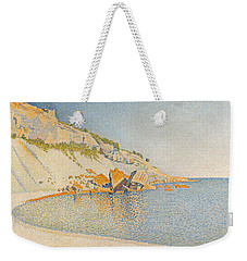 Cassis. Cap Lombard. Opus 196 Weekender Tote Bag by Paul Signac