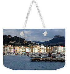 Cassis Town And Harbor Weekender Tote Bag