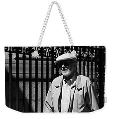 Cast Iron Weekender Tote Bag