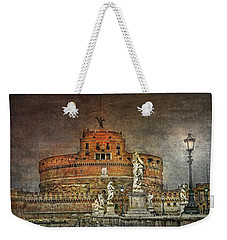 Weekender Tote Bag featuring the photograph Castel Sant Angelo Fine Art by Hanny Heim