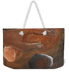 Casting Stones Weekender Tote Bag by Gary Smith