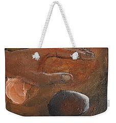Casting Stones Weekender Tote Bag