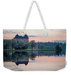 Castle After The Sunset Weekender Tote Bag