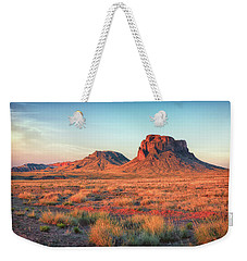 Castle Butte Weekender Tote Bag by David Cote