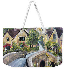 Castle Combe Weekender Tote Bag by Roxy Rich