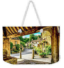Castle Combe Village, Uk Weekender Tote Bag by Chris Smith