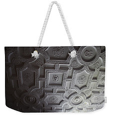 Weekender Tote Bag featuring the photograph Castle Detail by Mary-Lee Sanders