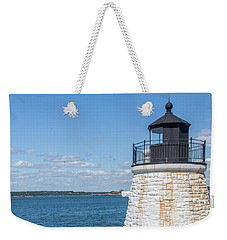 Castle Hill Lighthouse Newport Rhode Island Weekender Tote Bag