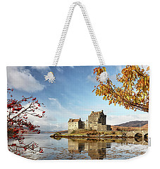 Castle In Autumn Weekender Tote Bag
