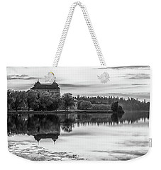 Castle In Black And White Weekender Tote Bag