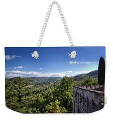 Castle In Chianti, Italy Weekender Tote Bag