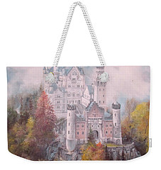 Castle In The Clouds Weekender Tote Bag