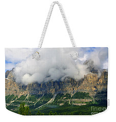 Castle Mountain Weekender Tote Bag by Elfriede Fulda