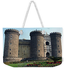 Castle Nuovo Naples Italy Weekender Tote Bag