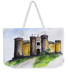Castle Nuovo, Napoli Weekender Tote Bag by Clyde J Kell