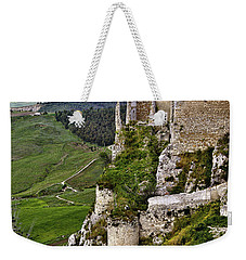 Castle Of Pietraperzia Weekender Tote Bag