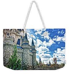 Castle Perspective Weekender Tote Bag