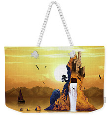 Castle Rising Weekender Tote Bag
